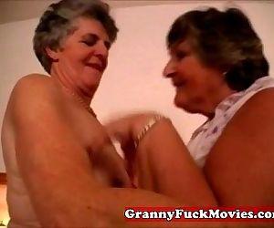 Dirty old fat lesbian..