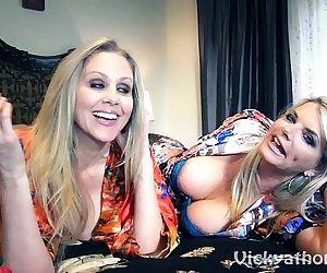 Vicky Vette & Julia..
