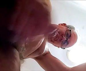 Underneath cum shot 4 min