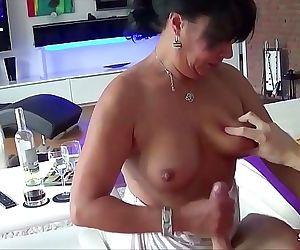 German Housewife Leila..