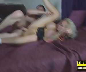 blonde mature with..