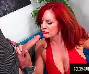 Beautiful Older Redhead..