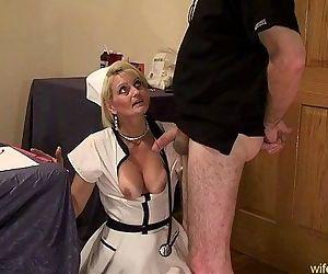 Nurse Gape mature anal..