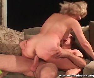 Slutty blonde gets..
