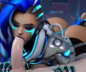 Sombra Blowjob Overwatch