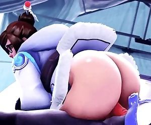 Overwatch - Mei butt..
