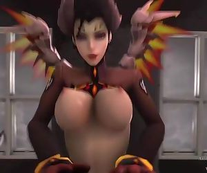 Overwatch Devil Mercy..
