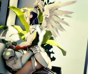 Mercy X Genji Overwatch