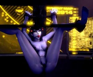 Overwatch Bondage Black..
