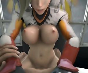 Overwatch Mercy SFM..