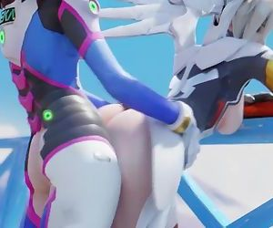 Overwatch: Mercy Fucked..