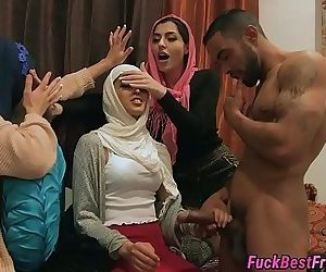 Hijab Bride Fucked By..