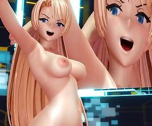 3D MMD Angela Balzac in..