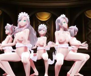3D MMD Sexy Love!
