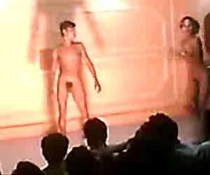 Indian stage nude..