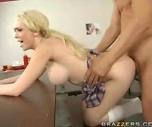 Pigtailed Schoolgirl..