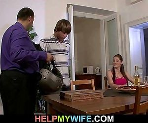 Sultry wife cheats on..