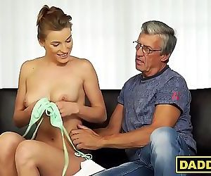 Daddy gets with his..