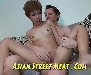 Short Haired Asian..