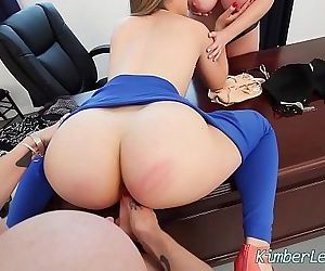 Teen Kimber Lee has..