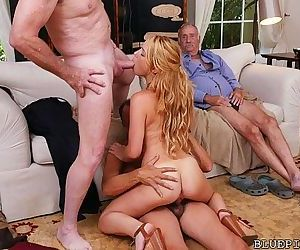 3 Old Cocks for Redhead..