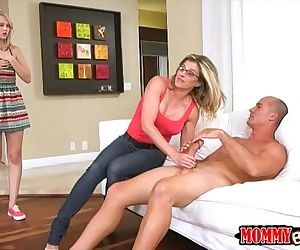 Cory Chase and Lily..