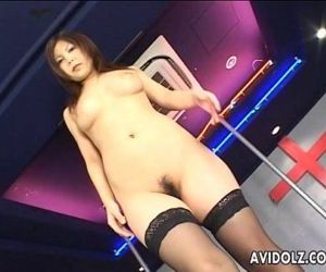 Japanese pole dancer..