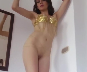 Young Belly Dancer with..