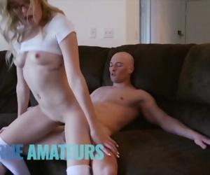 Bubble butt blonde..