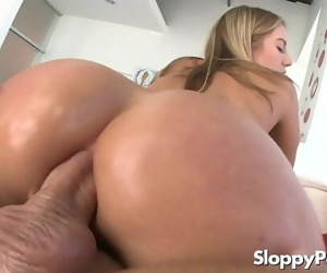 Hot anal cowgirl..