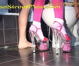 Pink Prone Bondage..