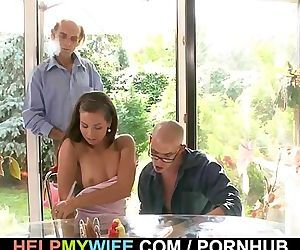 Old hubby got cuckolded..