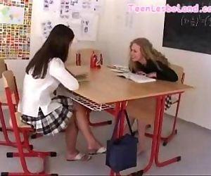 Classroom Lesbian Sex