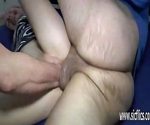 Double fist and cock..