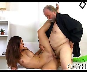 Cute young gal fucked..