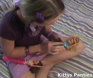 Nubile teen Kitty..