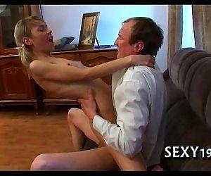 Tricky teacher seducing..