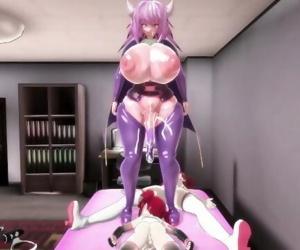 MMD Futanari Sex -..