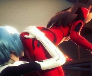 Asuka and Rei having..