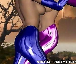 3d sci fi hentai babe..