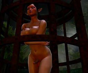 The elf sex slave..