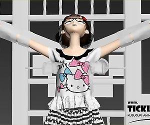 3D Anime Girl Nipple..