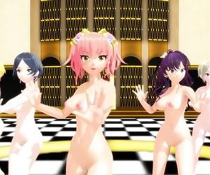 3D MMD IDOLM@STER Babes..