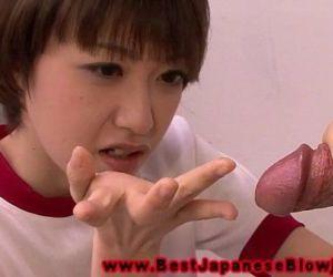 Young asian schoolgirl..