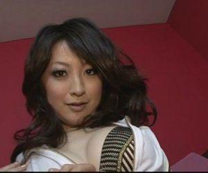 Brunette Asian girl..
