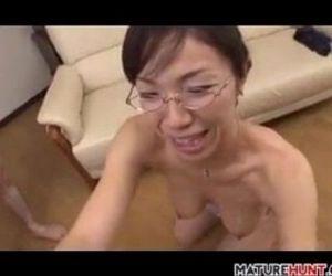 Mature Asian Woman..