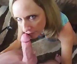 Horny mom seduce and..