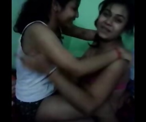Drunk lesbo babes play..