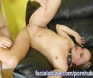 Rough Sex With Two Hung..