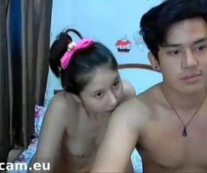 asian couple fucking..